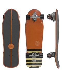 Slide Street Surf SkateBoard White Sox 33