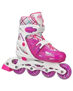 Harmony Girl's Inline Skates - Adjustable Size (3-6)