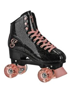 Candi Girl Sabina - Women's Colorful Freestyle Roller Skates - Black/Rose