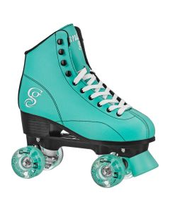 CANDI GIRL SABINA - Colorful Freestyle Roller Skates - MINT/BLACK