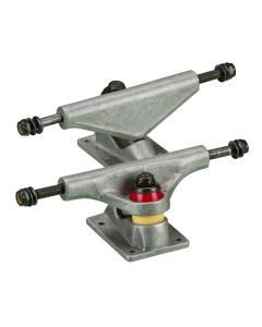 Delta 5 inch Skateboard Trucks – Grey/Red (Set of 2)