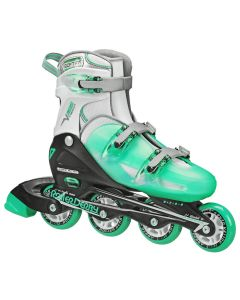 V-Tech 500 Women's Inline Skates - Adjustable from size 6 to 9 (Mint)