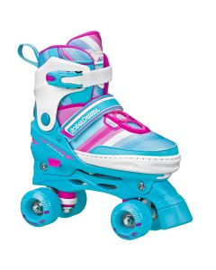 Girls Adjustable Quad Roller Skates (adjustable size 3-6)