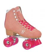 CANDI GIRL CARLIN Colorful Women's Freestyle Roller Skates - Peach/Pink