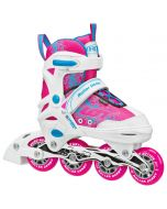 ION 7.2 Girl's Inline Skates - Adjustable Sizes (11-1) or (2-5)
